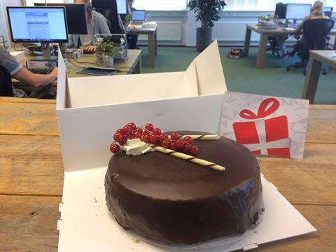 Werken bij Antagonist: taart als beloning!