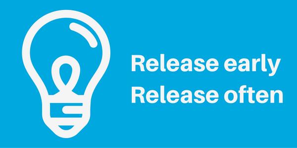Het uitbreiden van de backup-retentie: release early, release often