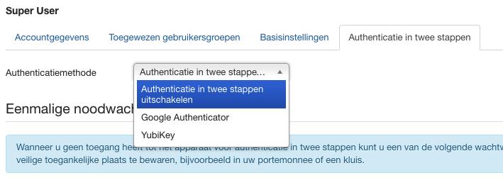 5 handige tips voor een beter beveiligde Joomla-website: authenticatie in twee stappen