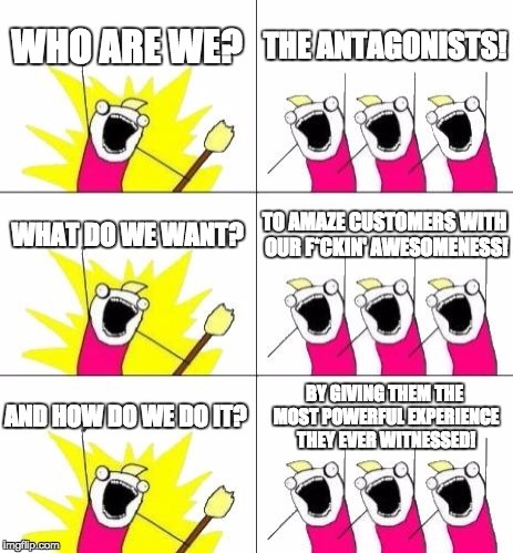 De strategie van Antagonist: de missie en visie
