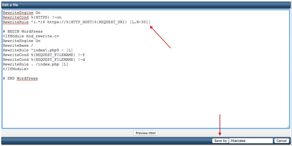 Het felbegeerde groene slotje: het forceren van HTTPS via het .htaccess-bestand