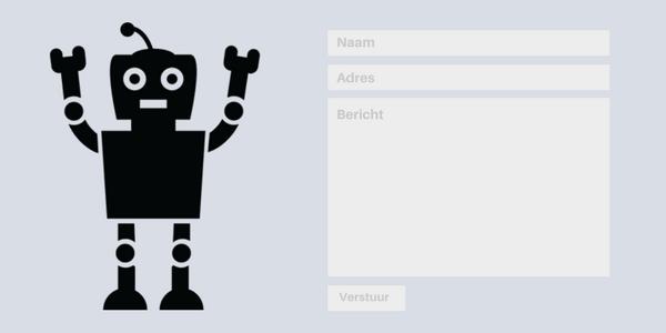 Beveilig je contactformulieren met een reCAPTCHA: wat is een bot?