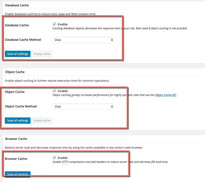 Snellere laadtijden voor je WordPress-website: het instellen van W3 Total Cache