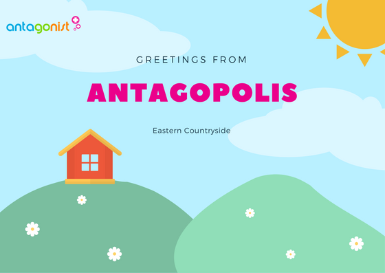 Greetings from Antagopolis: eastern countryside