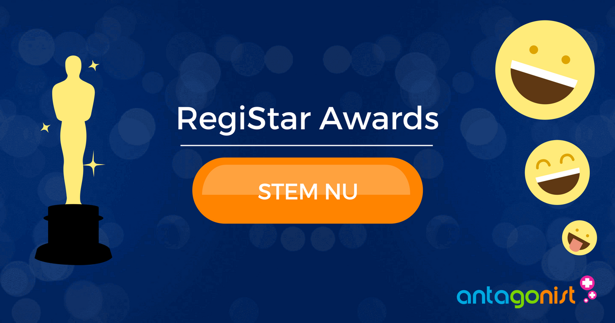RegiStar Awards 2017: stem nu op Antagonist!