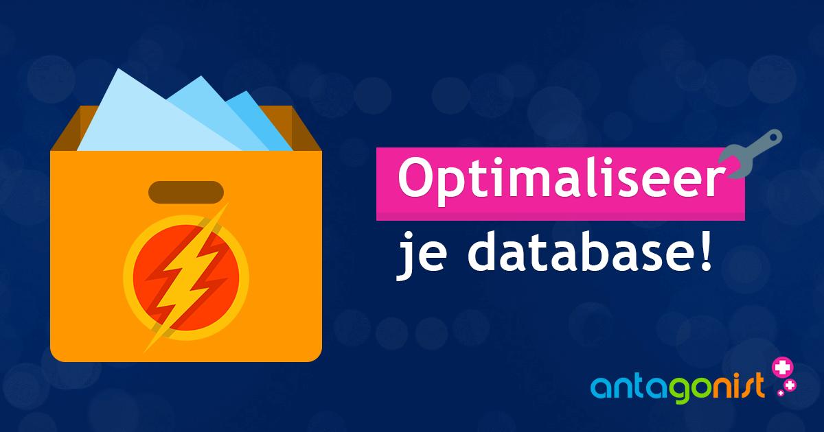 Maak je website nog sneller met behulp van database-optimalisatie!