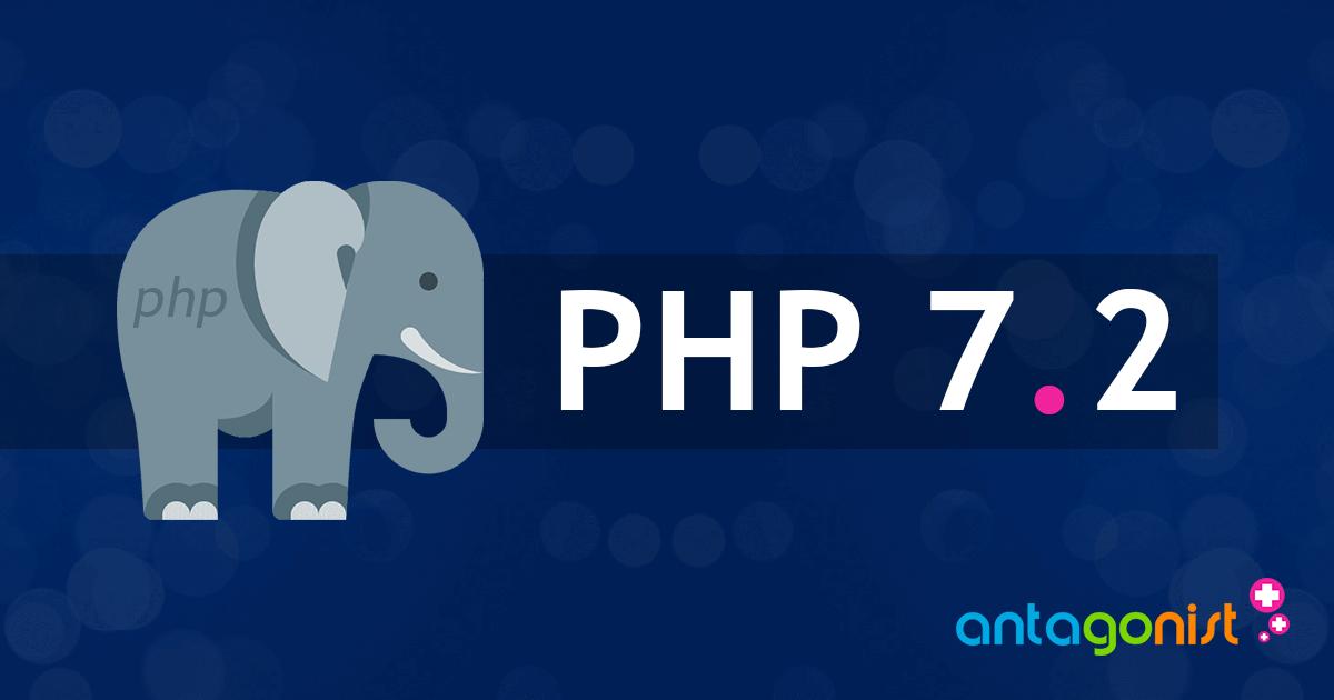 PHP 7.2 nu beschikbaar bij Antagonist!