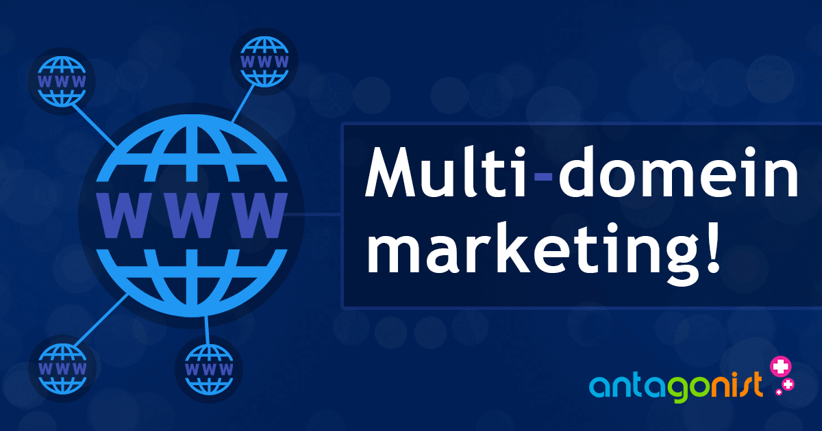 Multi-domein marketing: 3 methoden om succesvol meerdere domeinen in te zetten!