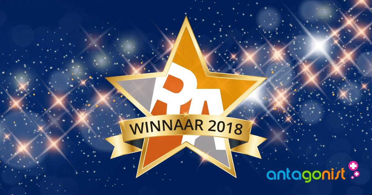 Antagonist wint RegiStar Awards, dankzij trouwe klanten!