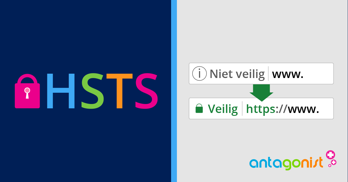 HSTS en standaard HTTPS toegevoegd.