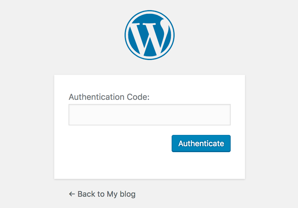 Twee-factor-authenticatie (2FA) in WordPress.