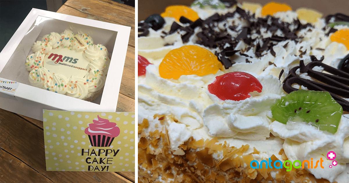 Een terugblik op een prachtig 2018: taart!