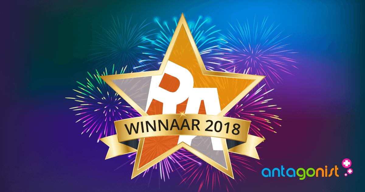 Een terugblik op een prachtig 2018: het winnen van de RegiStar Awards.