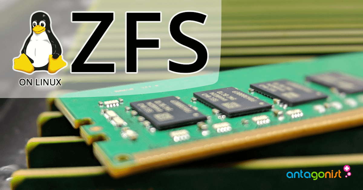 ZFS on Linux: altijd op zoek naar meer I/O performance!