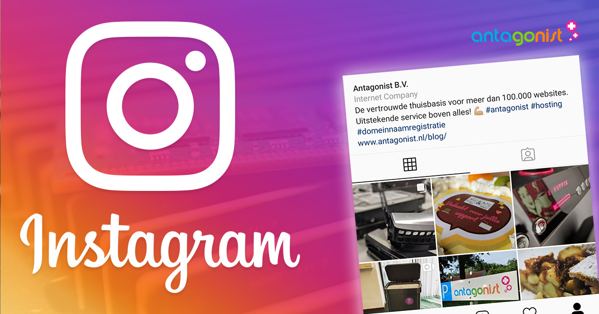 Volg Antagonist op Instagram!