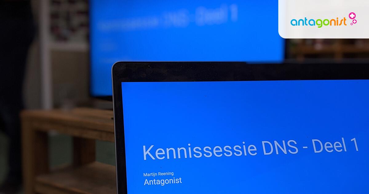 Interne kennissessie over DNS.