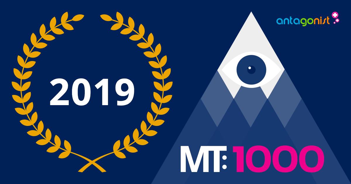 MT1000: Antagonist bij de beste zakelijk dienstverleners van 2019.