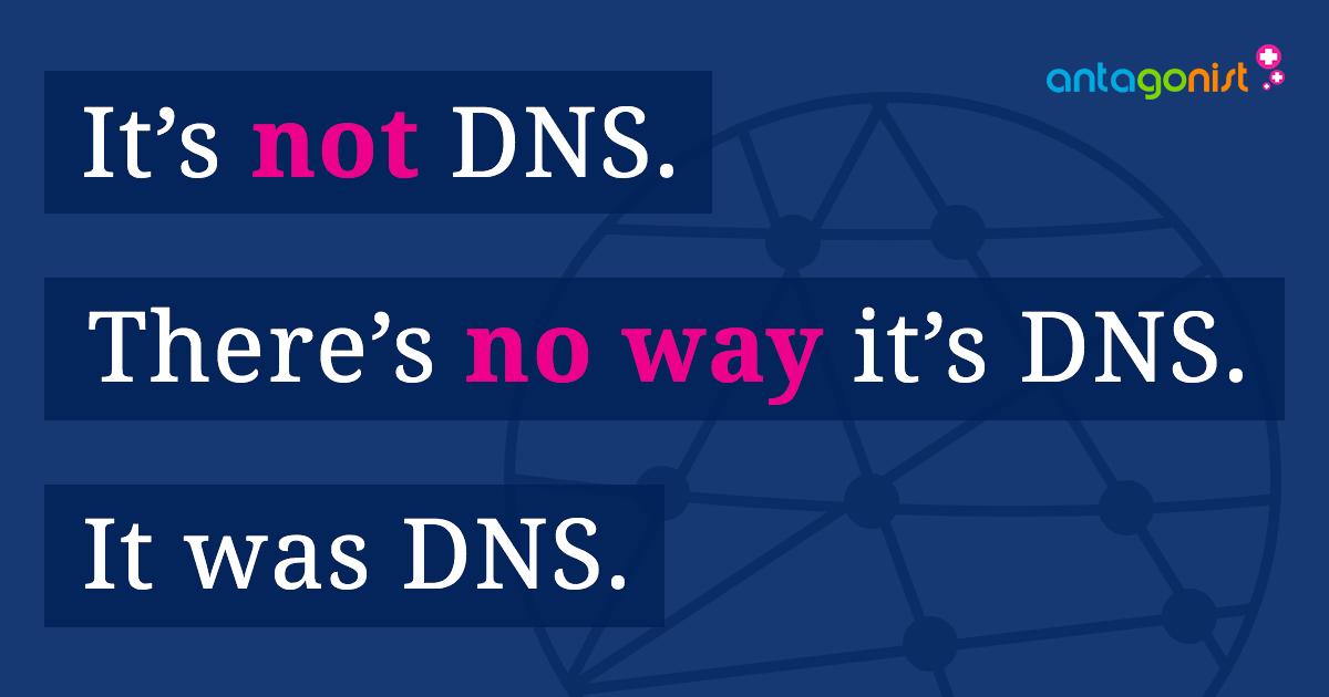 DNS-problemen onderzoeken en oplossen.