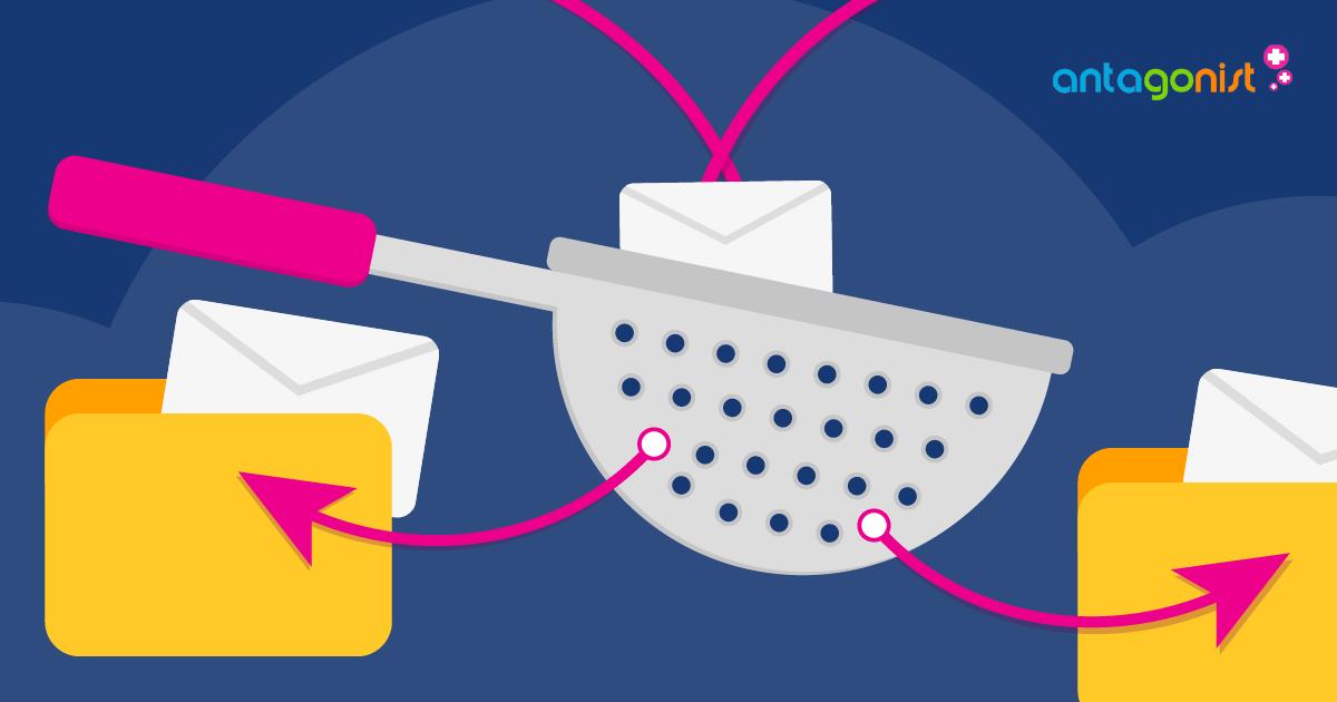 Houd grip op je inbox met handige mailfilters en subadressen.