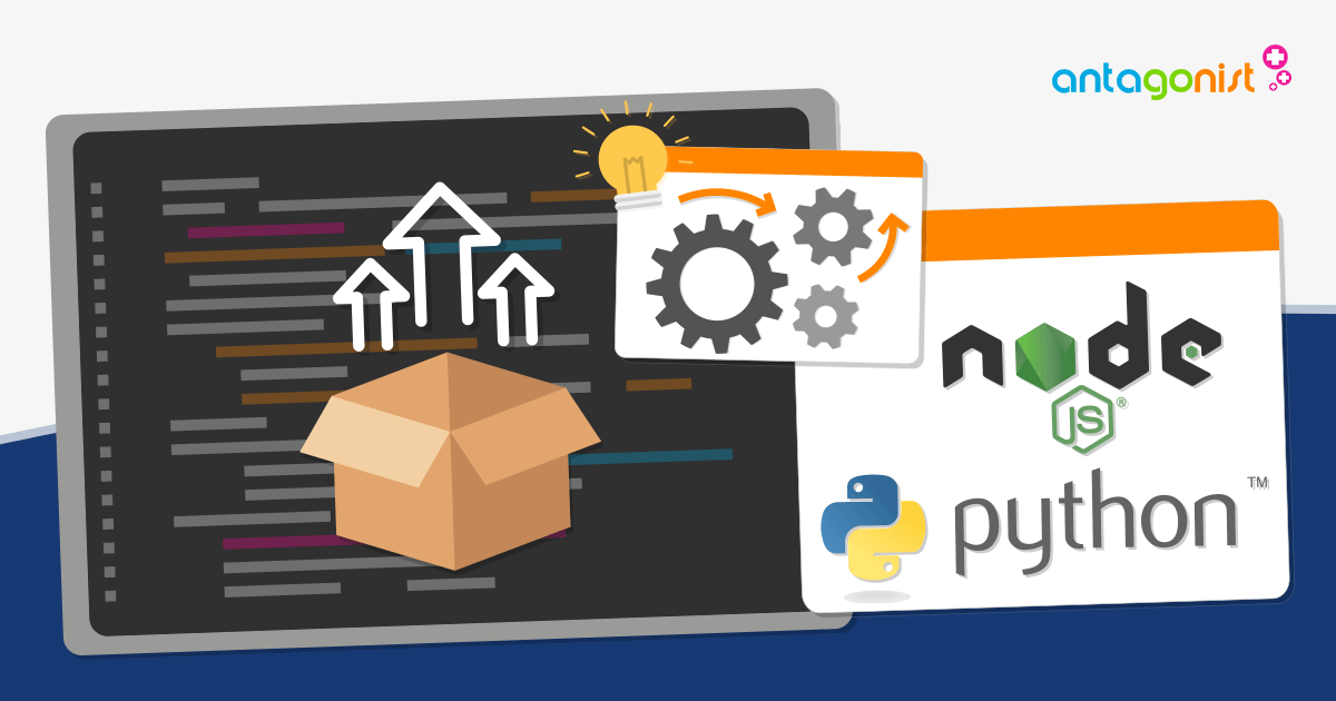 Deployment van Node.js en Python applicaties automatiseren!