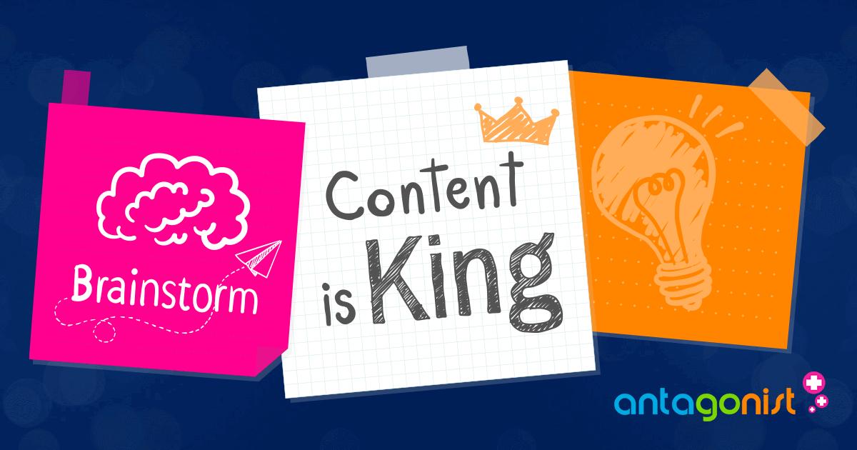 Contentmarketing als online marketing strategie.