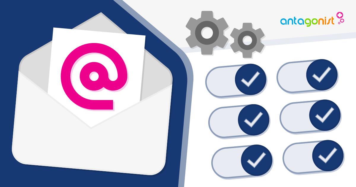 Leer alle beheeropties kennen van het e-mailpakket!