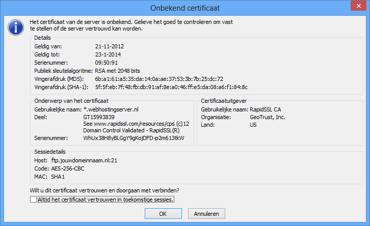 hosting:upload:filezilla3_cert.png