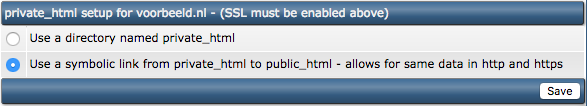 HTTPS voor de public_html of de private_html?