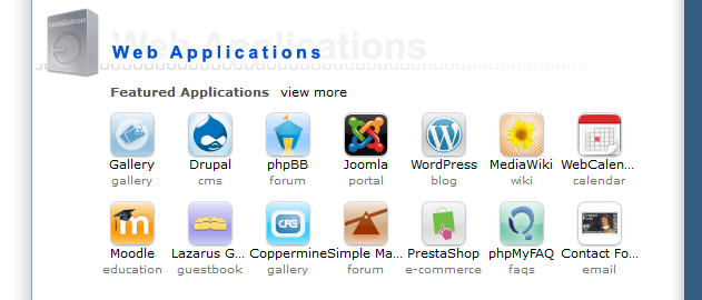 WordPress: DirectAdmin