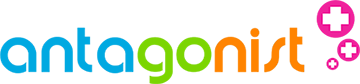 Het logo van Antagonist